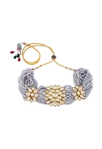 kundan-beaded-choker-necklace