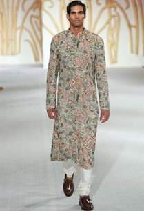 floral-embroidered-sherwani-with-spun-silk-churidar