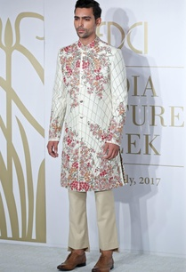 embroidered-sherwani-with-trouser-pants