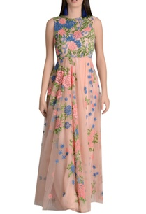 floral-thread-embroidered-maxi-dress
