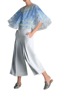 tulle-net-fringe-cape-with-culottes