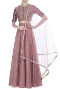 threadwork-crop-top-with-lehenga-and-dupatta