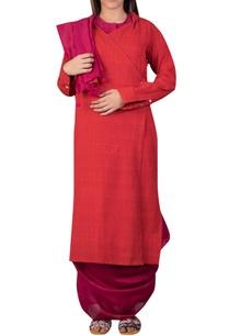 khadi-cross-over-style-tunic