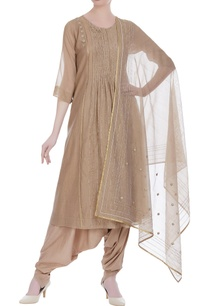 earthy-colored-handloom-chanderi-dupatta