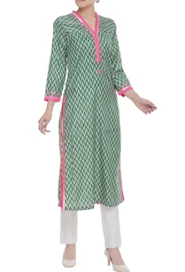 gota-embroidered-printed-kurta