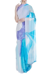 abstract-hand-painted-sari-with-unstitched-blouse