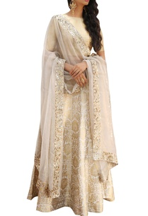 zari-brocade-lehenga-with-blouse-and-dupatta