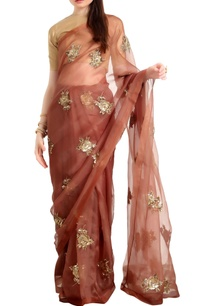 organza-silk-sari-with-woven-zari-blouse