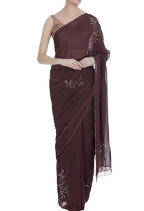 sequin-bead-embroidered-sari-with-sleeveless-blouse