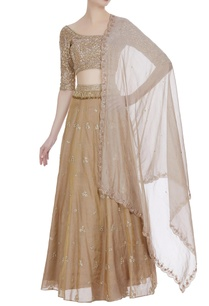 beige-hand-embroidered-lehenga-set