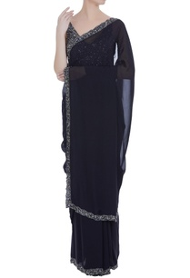 chiffon-sequin-embroidered-sari-with-blouse