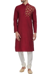 one-side-maple-detailed-kurta