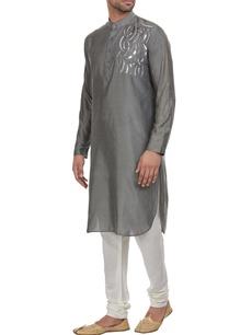 silver-detailed-kurta
