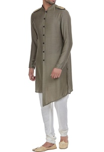 front-open-kurta-with-shouler-flap