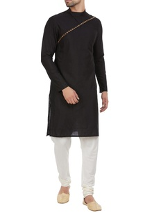 diagonal-stud-detailed-kurta