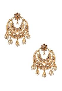 kundan-faux-pearl-chandbali-earrings