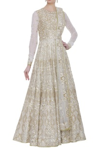 fit-and-flare-anarkali-set-with-gota-embroidered-dupatta