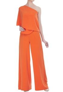 peplum-style-flared-jumpsuit