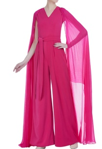 flared-sleeves-jumpsuit