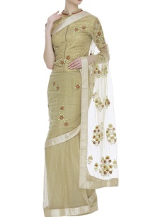 embroidered-sari-with-jacket-blouse