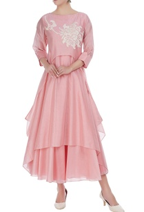 chanderi-embroidered-tunic-with-anarkali
