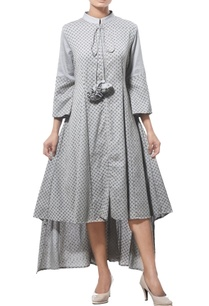 high-low-midi-dress-with-polka-dots