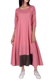 katha-work-flared-maxi-dress