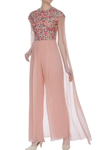 floral-embroidered-cape-style-jumpsuit