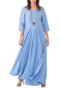 flared-maxi-dress-with-utility-pockets