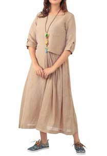 pleated-dress-with-utility-pocket