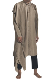 side-flared-kurta-with-asymmetric-hemline