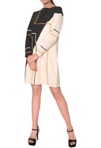 midi-dress-with-overlap-style