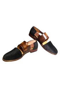 leather-velvet-sandals