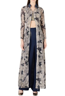 floral-printed-jacket-with-wrap-style-pants-bustier