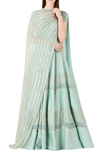textured-panel-anarkali-with-embellished-dupatta