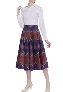velvet-box-pleated-printed-midi-skirt