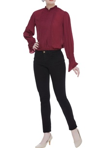 pure-crepe-silk-pleated-blouse