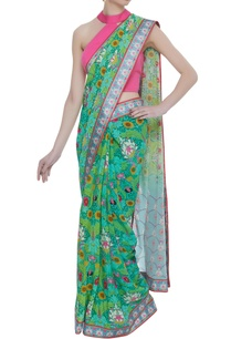 crepe-silk-floral-printed-sari