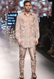 embroidered-shirt-with-trouser-pants