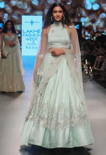 applique-embroidered-lehenga-with-blouse-and-dupatta