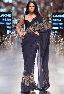 sequin-embroidered-sari-with-sleeveless-blouse