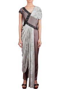 embroidered-tunic-with-pleated-drape-and-trouser-pants