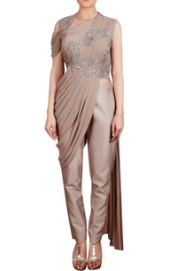 sari-style-drape-tunic-with-trouser-pants