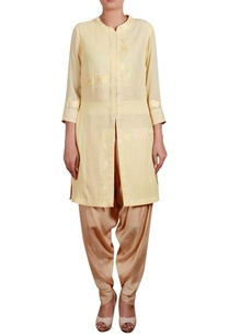 threadwork-embroidered-shirt-tunic-with-dhoti-pants