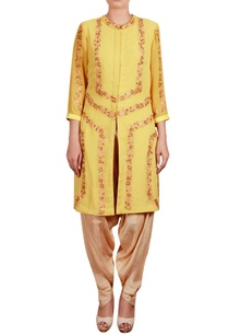 multicolor-threadwork-tunic-with-dhoti-pants
