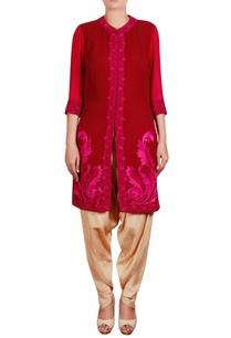 embroidered-shirt-tunic-with-dhoti-pants