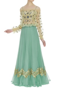 embroidered-top-with-net-lehenga-bustier
