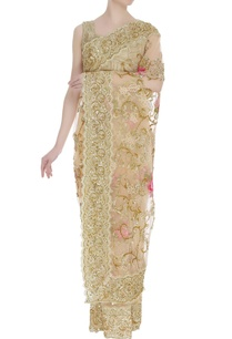 embroidered-sari-with-unstitched-blouse