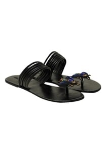 bug-motif-embellished-flat-sandals