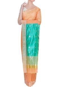 pure-chanderi-sari-with-zari-lotus-silk-palla